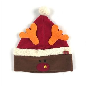 Souris Mini fleece reindeer / Santa hat